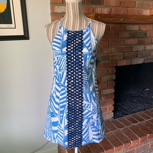 Lilly Pulitzer Annabelle Shift Dress Bay Blue Sz 2
